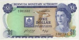 Bermuda P.28a 1 Dollar 1976 (1)