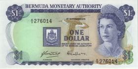 Bermuda P.28b 1 Dollar 1979 A-5 (1)