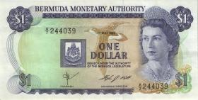 Bermuda P.28b 1 Dollar 1984 A-7 (3+)
