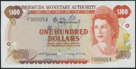 Bermuda P.33a 100 Dollars 1982 (1)