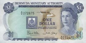 Bermuda P.28c 1 Dollar 1986 A-8 (1)