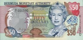 Bermuda P.54a 50 Dollars 2000  (1)