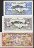 Bhutan P.12-14 1-5 Ngultrum (1985) (1)
