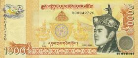 Bhutan P.34 1000 Ngultrum 2008 (1)