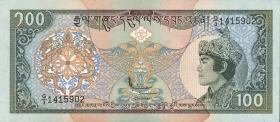 Bhutan P.20 100 Ngultrum (1994) (1)