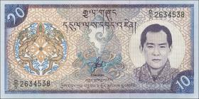 Bhutan P.22 10 Ngultrum (2000) (1)
