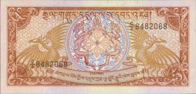 Bhutan P.14 5 Ngultrum (1985) (1)