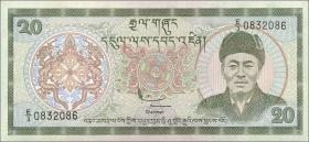 Bhutan P.23 20 Ngultrum (1992) (1)