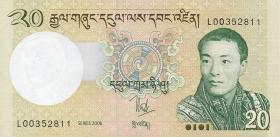 Bhutan P.30a 20 Ngultrum 2006 (1)