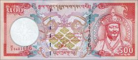 Bhutan P.26 500 Ngultrum (2000) (1)