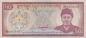 Bhutan P.17b 50 Ngultrum (1992) (1)