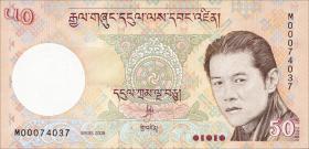 Bhutan P.31a 50 Ngultrum 2008 (1)