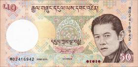 Bhutan P.31b 50 Ngultrum 2013 (1)