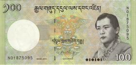 Bhutan P.32b 100 Ngultrum 2011 (1)