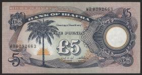 Biafra P.06a 5 Pounds (1968-69) (1/1-)