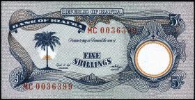 Biafra P.03a 5 Shillings (1968-69) (1)