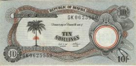 Biafra P.04 10 Shillings (1968-1969) (2)