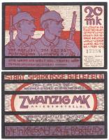 Bielefeld 20 Mark Kriegsnotgeld 1918 (1-)