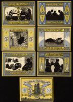 Notgeld Bismarck 6 x 50 Pfennig