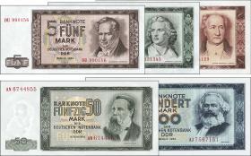 R.354-358 Banknotensatz 1964 (5 Werte) (1)