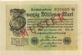 R.107M: 20 Mio. Mark 1923 Muster (1)