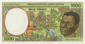 Zentral-Afrikanische-Staaten / Central African States P.102Cb 1000 Francs 1994 (1)