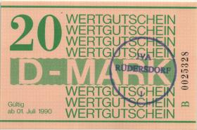MDI-41 DDR Gefängnisgeld 20 D-Mark (1990) (1)