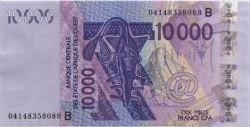 West-Afr.Staaten/West African States P.218Bb 10.000 Francs 2004 (1)