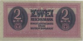 R.506: Wehrmachtsausgabe 2 Reichsmark (1942) (3+)