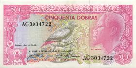 St. Thomas / Saint Thomas and Prince P.56 50 Dobras 1982 (2+)