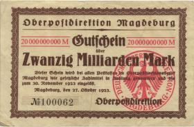 MG130.06 OPD Magdeburg 20 Milliarden Mark 1923 (3)