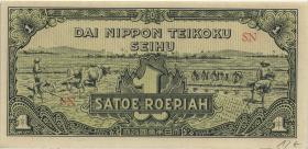 Ndl. Indien / Netherlands Indies P.129 1 Rupie (1944) (1)