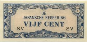 Ndl. Indien / Netherlands Indies P.120b 5 Cent (1942) (1)
