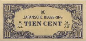 Ndl. Indien / Netherlands Indies P.121c 10 Cent (1942) (1)