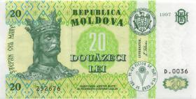 Moldawien / Moldova P.13c 20 Lei 1997 (1)