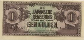 Ndl. Indien / Netherlands Indies P.123c 1 Gulden (1942) (1)