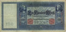 """R.035 100 Mark 1908 """"Flottenschein"""" (4)"""