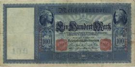 """R.038 100 Mark 1909 """"Flottenschein"""" (4)"""