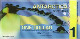Antarctica P.07 1 Dollars 2011 Polymer (1)