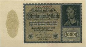 R.069a: 10000 Mark 1922 Reichsdruck 7-stellig (2)