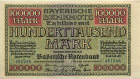 R-BAY 09: 100.000 Mark 1923 (1/1-)