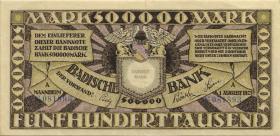 R-BAD 10: 500.000 Mark 1923 (2)