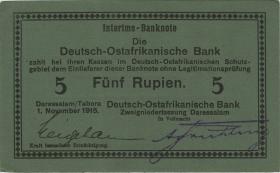 R.931e: Deutsch-Ostafrika 5 Rupien 1915 E (1/1-)