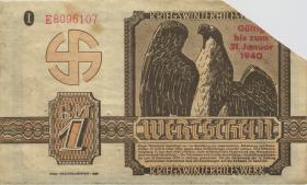 WHW-10 Winterhilfswerk 1 Reichsmark 1939/40 mit Überdruck (3)