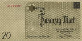 Get-06c Getto Litzmannstadt 20 Mark 1940 (1)