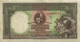 Uruguay P.27 50 Centesimos 1935 (3)