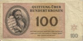Get-14 Getto Theresienstadt 100 Krone 1943 (4)