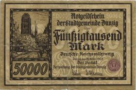 R.798: Danzig 50000 Mark 1923 (4)