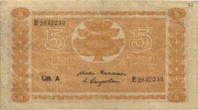 Finnland / Finland P.076a 5 Markkaa 1945 (1946) (3)