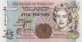 Guernsey P.56a 5 Pounds (1996) (1)